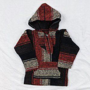 Fall/Winter Hooded Poncho Sz 2T